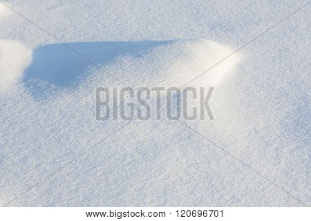 Snow bump background