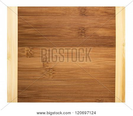 Wooden board for cutting.