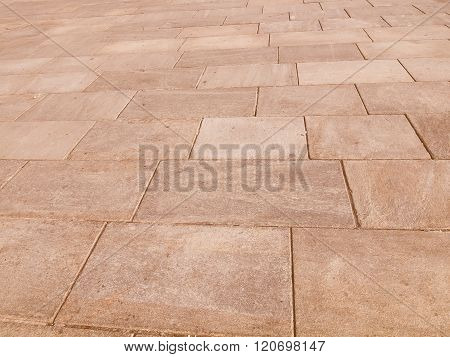 Retro Looking Stone Floor