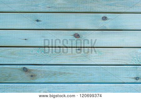 Painted Plain Teal Blue And Gray Rustic Wood Board Background That Can Be Either Horizontal