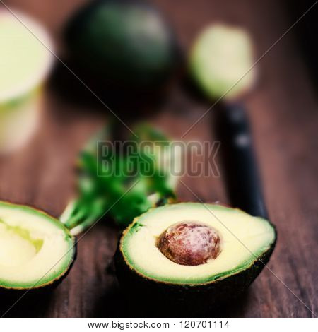 Avocado / Avocado Fruit /  Halved Avocado