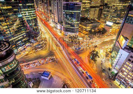 Cityscape of South Korea.