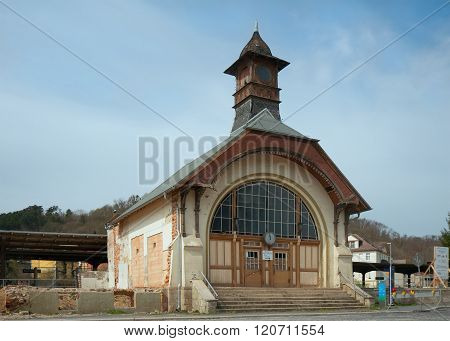 Bad Koesen Railway Station, Germany