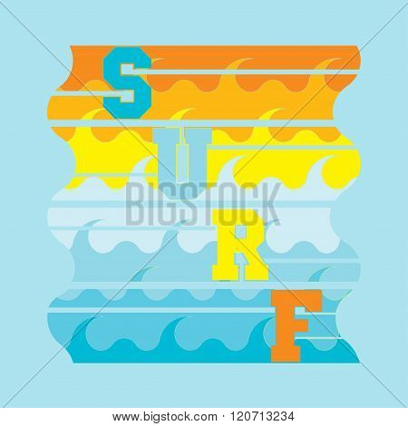 Surf, Miami Beach, Florida, Surfing T-shirts