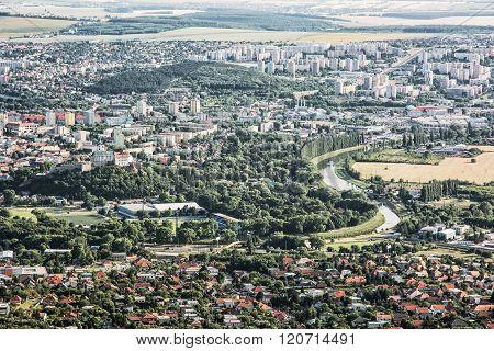 Nitra City, Slovakia, Urban Scene