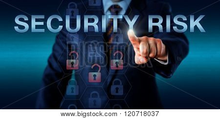 Management Executive Touching Security Risk