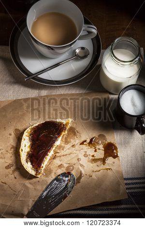 Molasses Bread and Tea