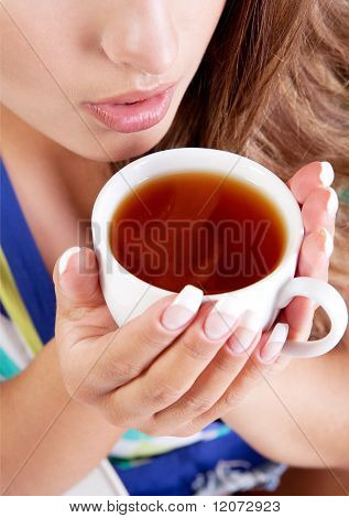 Woman With Tea