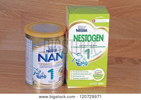 Nestle NAN and Nestle Nestogen