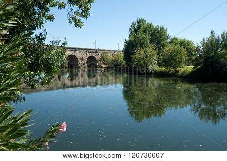 Roman Bridge Of Merida