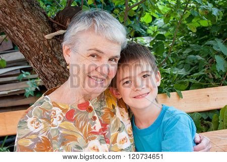 Great-grandmother And Great-grandchild