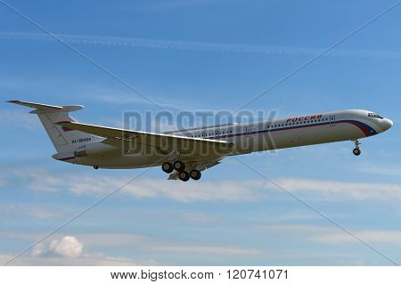 The Ilyushin Il-62 Is A Soviet Long-range Jet Airliner