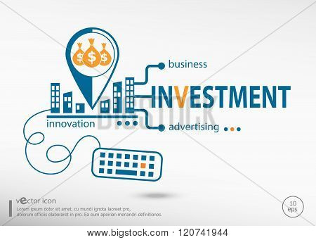 Investment Strategy And Marketing Concept.