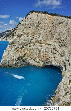 Rocks near Porto Katsiki Beach, Lefkada, Greece