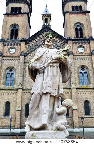 Millennium Church Statue