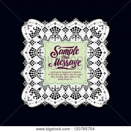 lace vector background