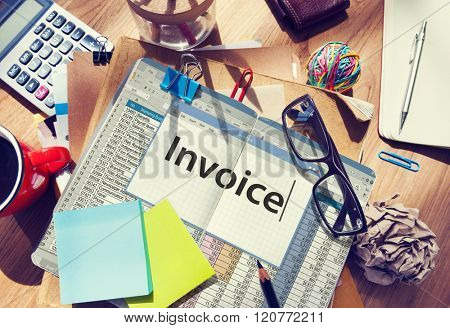 Invoice Payment Bill Taxation Money Concept