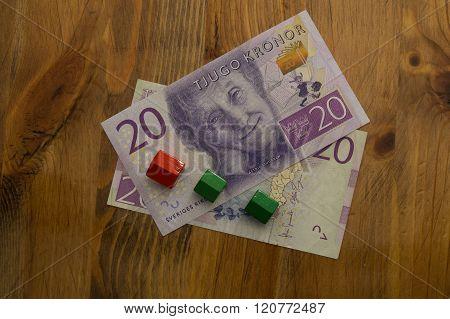 Swedish 20 Kronor Bill