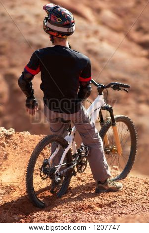 Extreme Biker On Breakaway