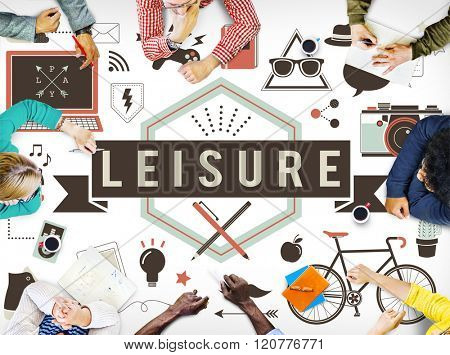 Leisure Activity Freetime Passion Hobbies Concept