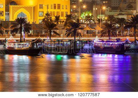 Dhow In Doha, Qatar