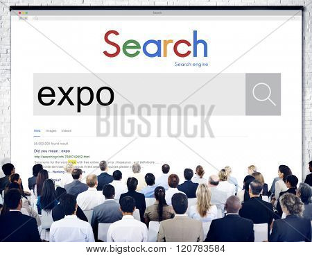 Expo Showcase Event Industry Trade Fair Display Concept