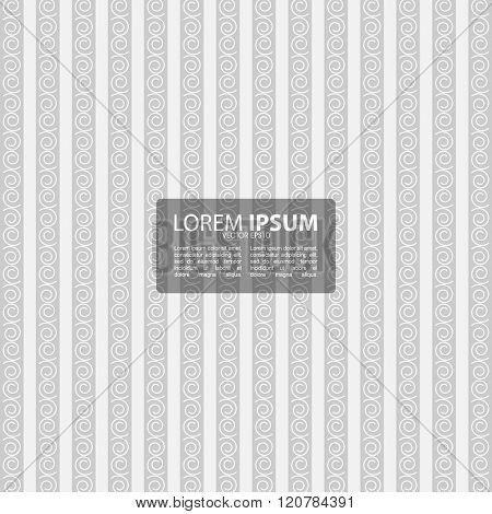 stripes with swirls abstract background design