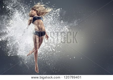 Young Dancing Woman