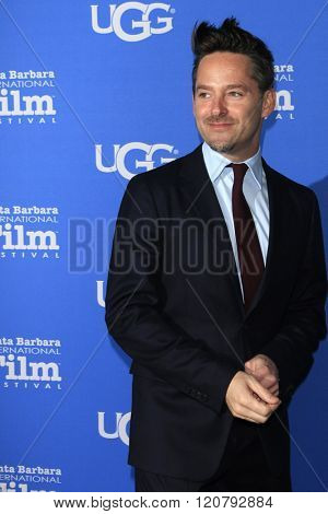SANTA BARBARA - FEB 4:  Scott Cooper at the 31st Santa Barbara International Film Festival - Maltin Modern Master on February 4, 2016 in Santa Barbara, California