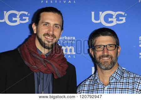 SANTA BARBARA - FEB 4:  Ben Henretig, Tony Lillios at the 31st Santa Barbara International Film Festival - Maltin Modern Master on February 4, 2016 in Santa Barbara, California