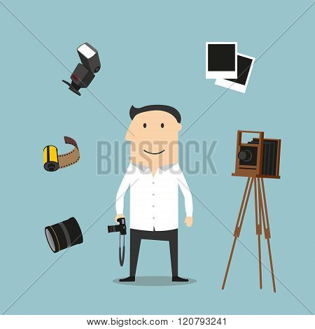 Photographer and photography devices