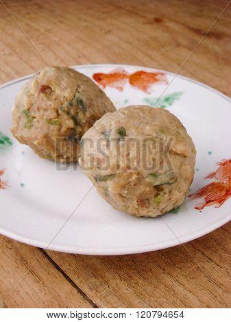 Cantonese Dim Sum Beef Balls
