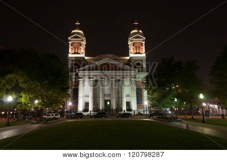 Cathedral of Immaculate Conception in Mobile Alabama