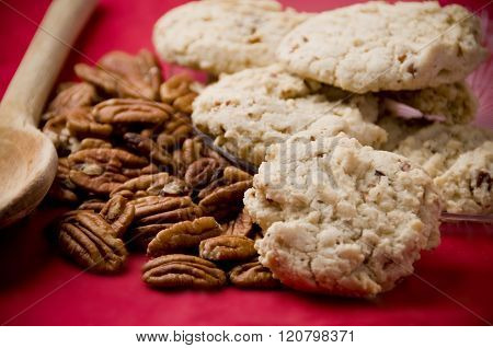 Sandy Pecans cookies ready for the holidays