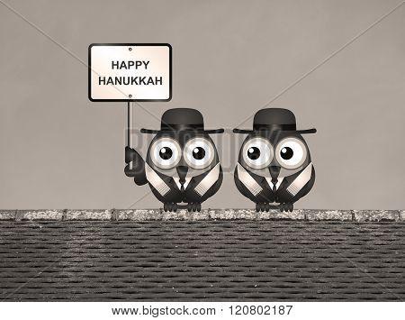 Sepia Jewish Hanukkah Festival