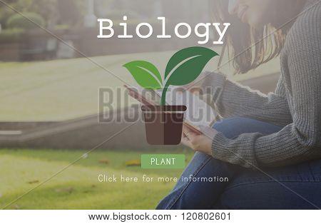 Biology Biotechnology Physics Laboratory Science Concept
