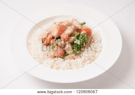 Mushroom Curry Chicken