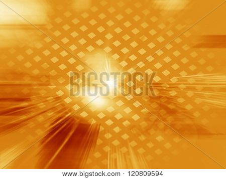 Abstract Mosaic Gold  Background