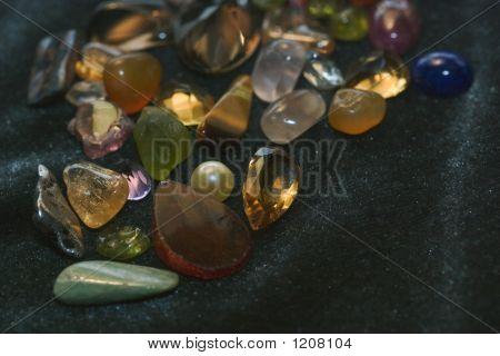 Stones On Velvet
