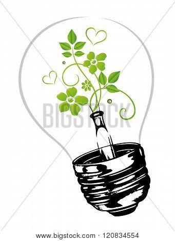 Lamp, electricity