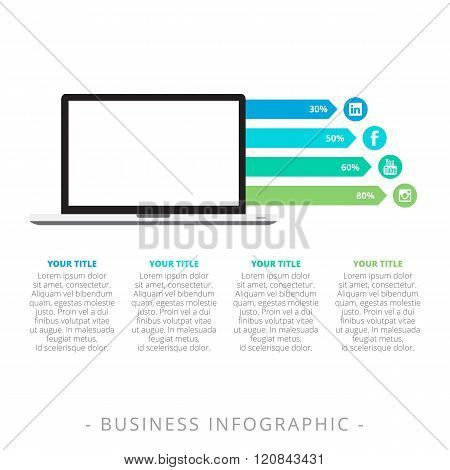 Horizontal Bar Chart Template 2