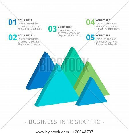 Triangle Diagram Template