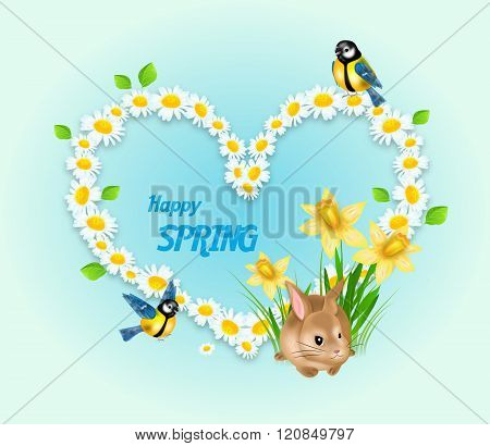 Spring Heart Decoration