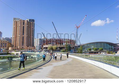 Footbridge in Adelaide