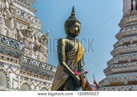 Buddha Statue In Wat Arun, Bangkok