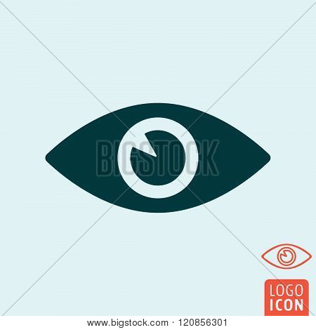 Eye Icon Isolated