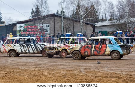 Three Car Gladiators