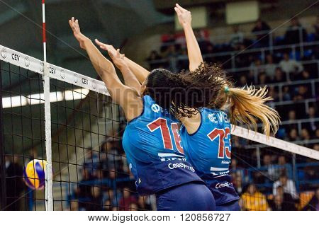 F. G. Rodrigez (16) And I. Fetisova (13) Defend