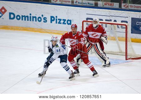 J. Dyblenko (28) And A. Kuznetsov (84) In Action
