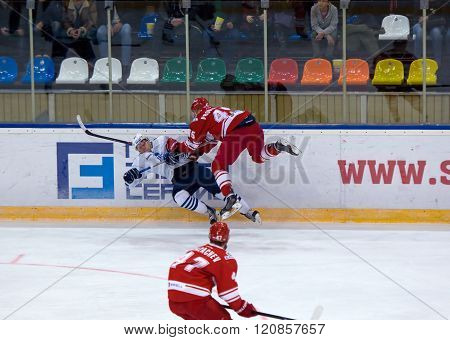 K. Glazachev (47) Attack, E. Jakovlev (92) Fall Down